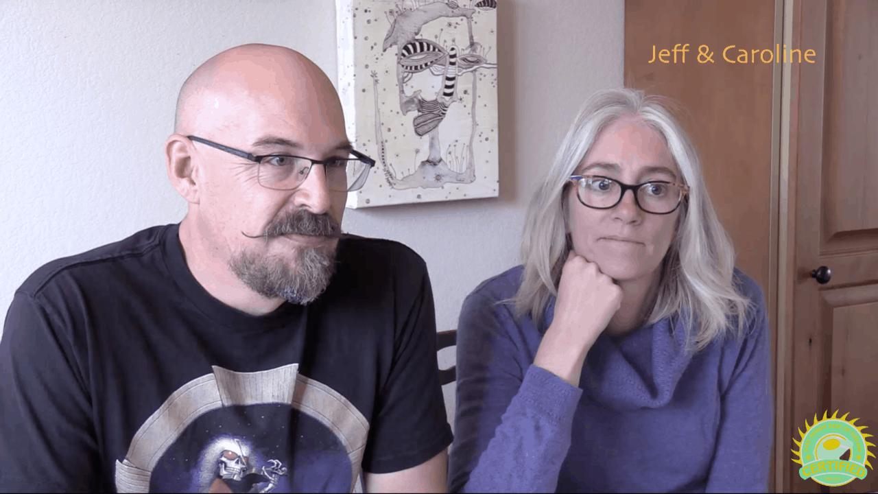 Jeff & Caroline - July 2017 Enphase iQ6 with LG 300W solar panels