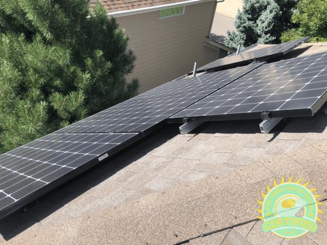Jeff & Caroline LG Solar Panels and Enphase iQ6