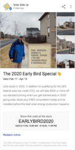 The 2020 Early Bird Special
