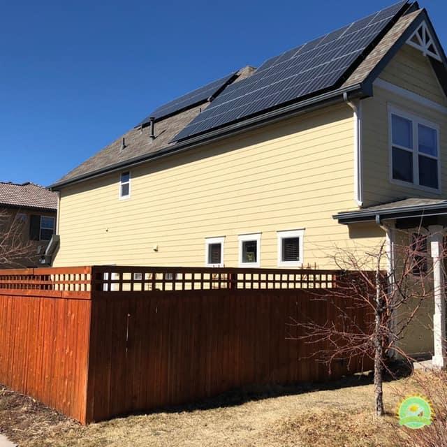 Rachel & James Denver Solar Installation - After Solar Install