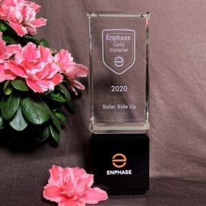 Enphase Gold Installer Award