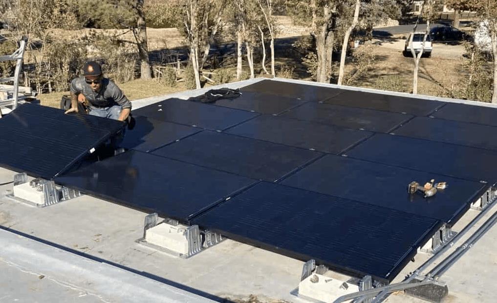 commercial solar installation in Denver, Colorado