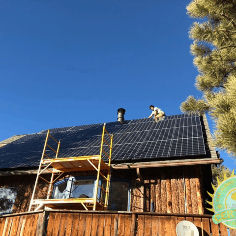 Solar Install by Solar Side Up - Evergreen, CO