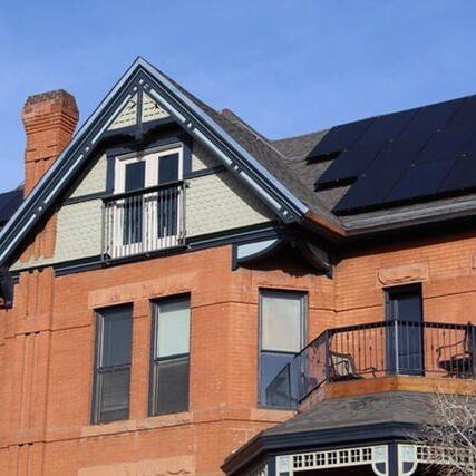 Solar Side Up Solar Install at Atlas Real Estate Denver